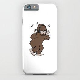Bigfoot Groovin' iPhone Case