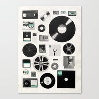 data Canvas Prints featuring Data by Florent Bodart / Speakerine