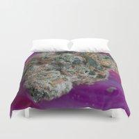 marijuana Duvet Covers featuring Jenny's Kush Medicinal Marijuana by BudProducts.us