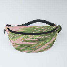 palm branch on a peach background Fanny Pack