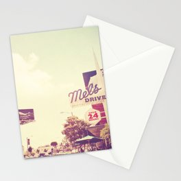 Ketchup. West Hollywood Los Angeles photograph Stationery Cards