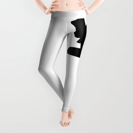 Recline on White /// pencilmeinstationery.com Leggings
