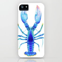 Blue Lobster № 2 iPhone Case