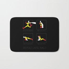 One Punch Man Workout Bath Mat