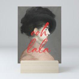 Ooh La La Mini Art Print