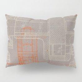 Steampunk engineering schematic Pillow Sham