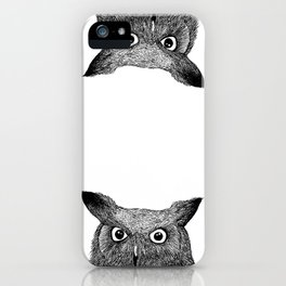 The Eyes of Wisdom iPhone Case