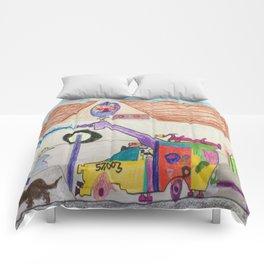 Fire Hall Practice  Comforters