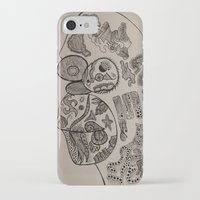 homer iPhone & iPod Cases featuring Homer Chimp by Jodie's