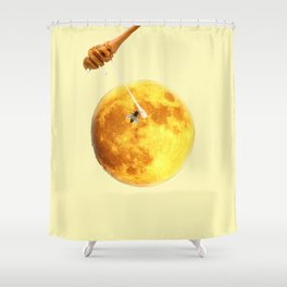 honey moon Shower Curtain
