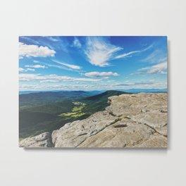 McAfee Knob Lookout •Appalachian Trail Metal Print