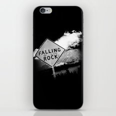 Falling (in love) Rocks iPhone Skin