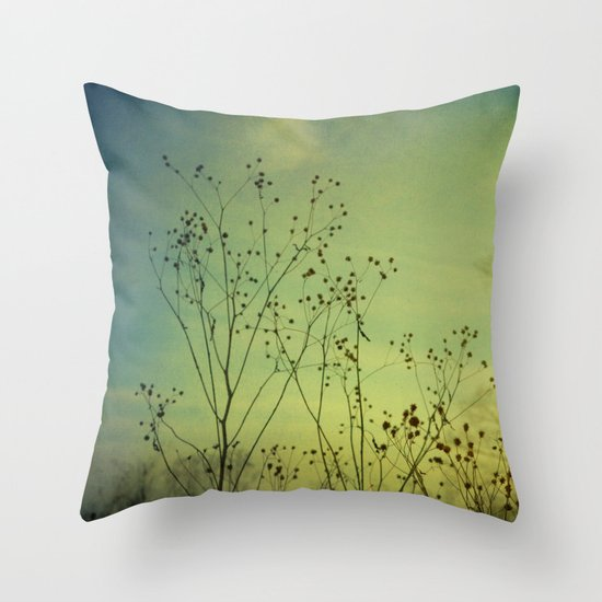 Fleeting Moment Throw Pillow