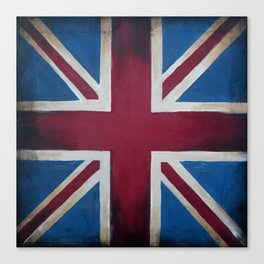 Union Jack Antique Canvas Print