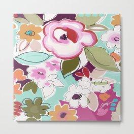 Dufy floral  Metal Print