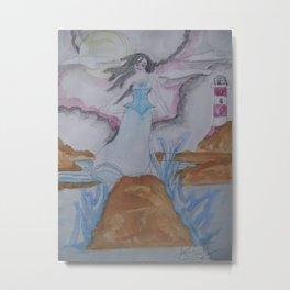 Annabel Lee. Metal Print