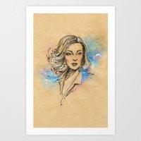 Tatiana Art Print