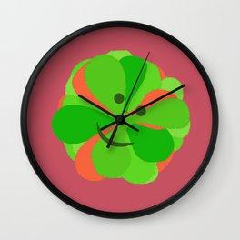 Happy Drosera  Wall Clock