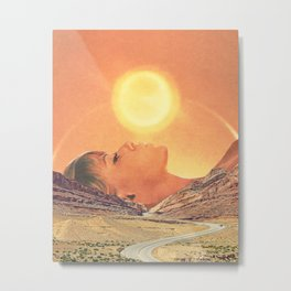 Kiss The Sky Metal Print