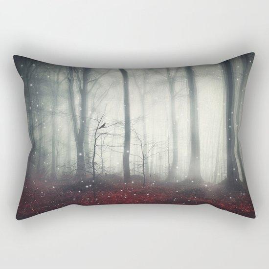 Spaces VII - Dreaming Woodland Rectangular Pillow