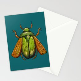 Beetle Wings Stationery Cards