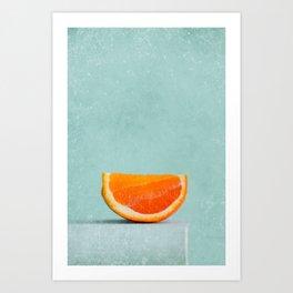 summer in orange II Art Print