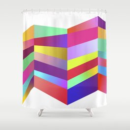 Impossible No. 1 Shower Curtain