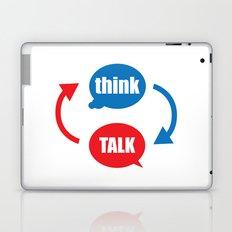 """""""think - talk"""" Laptop & iPad Skin"""