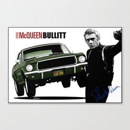Ford Mustang Fastback GT 1968 from Bullitt Canvas Print