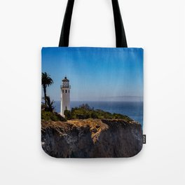 Point Vicente Lighthouse Tote Bag