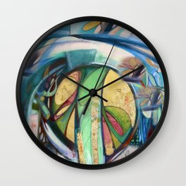 Peace Treaty Mandala Wall Clock