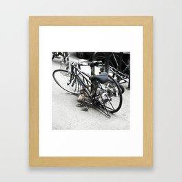 bikes 05 Framed Art Print