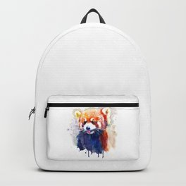 Red Panda Portrait Backpack