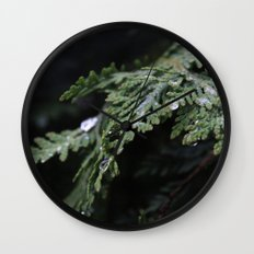 Evergreen Wall Clock