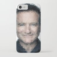 robin williams iPhone & iPod Cases featuring Robin Williams by lauramaahs