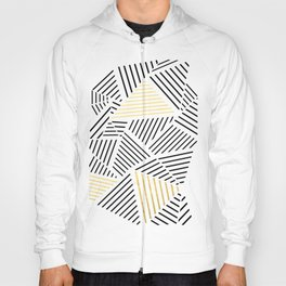 A Linear White Gold New Hoody