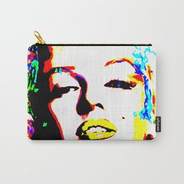 Pop Art of Actress M. Monroe - © Doc Braham; All Rights Reserved Carry-All Pouch