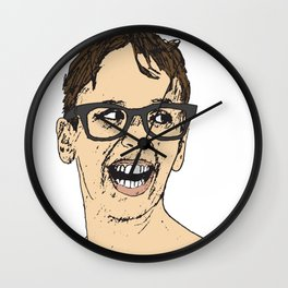 Squints From The Sandlot Wall Clock