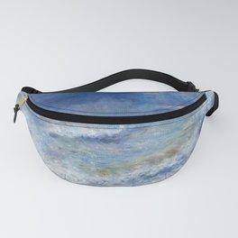 Seascape by Pierre-Auguste Renoir Fanny Pack