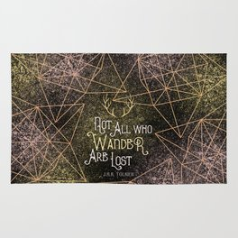 Not All who Wander Rug