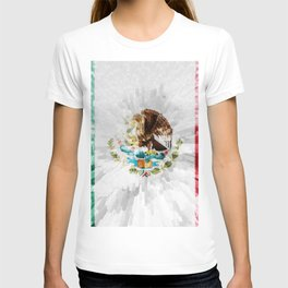 Extruded Flag of Mexico T-shirt