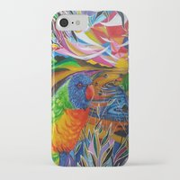 paradise iPhone & iPod Cases featuring Paradise by shannon's art space