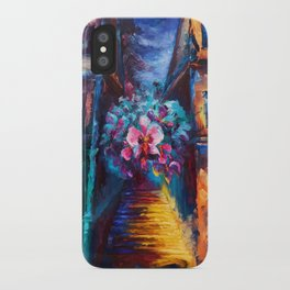 """""""Orchid"""" Painting iPhone Case"""