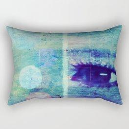 The Glaring Sea Rectangular Pillow