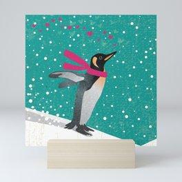 Joy Penguin Mini Art Print