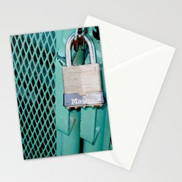 Behind Locked Gates Stationery Cards