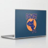 power Laptop & iPad Skins featuring Power! by BATKEI