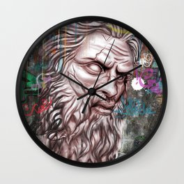 Epic Poseidon Wall Clock