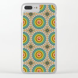 Panoply Pattern Clear iPhone Case