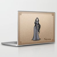 valar morghulis Laptop & iPad Skins featuring Nienna by wolfanita